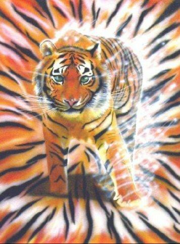 Вася - виртуальный тигр