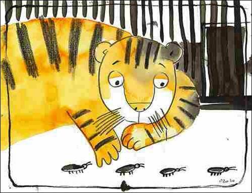 Про тигрёнка