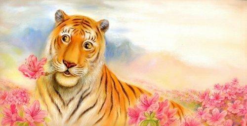 Тигры корейского иллюстратора Nam-Gu Lee