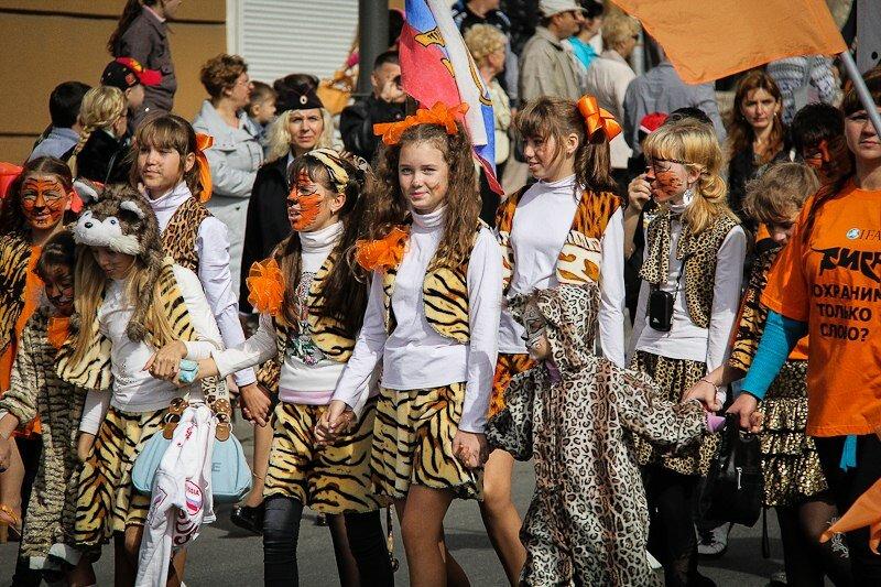 Во Владивостоке отметили традиционный День Тигра (видео)