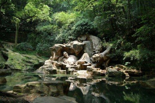 Тигровый родник - природная гордость китайского города Ханчжоу